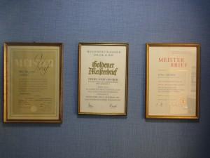 Auszeichnungen Malerfachbetrieb Gruber