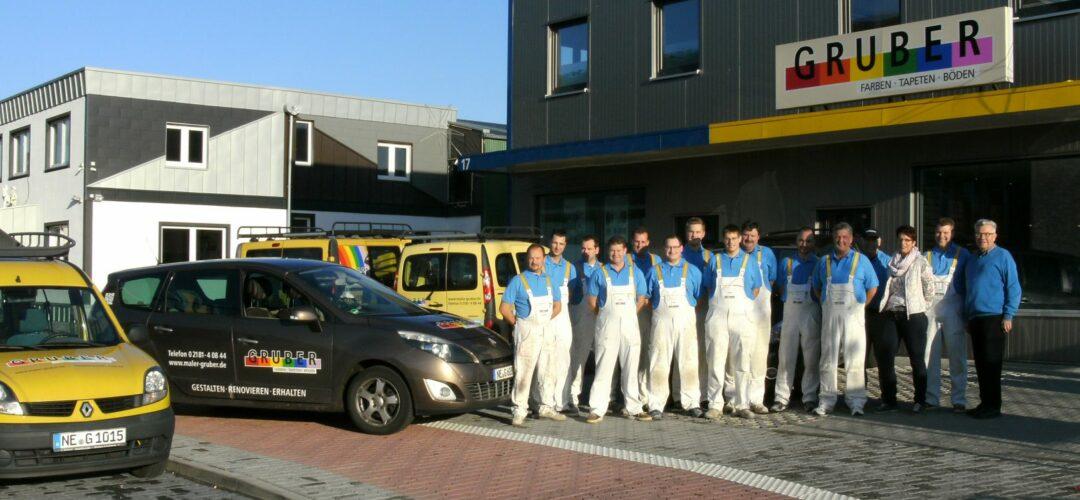 Malerfachbetrieb Gruber GmbH & Co. KG aus Neuss