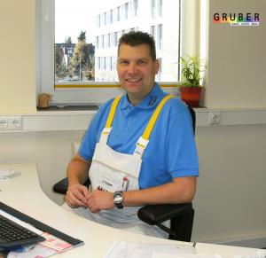 Malerfachbetrieb Gruber GmbH & co. KG - Geschäftsführer Jörg Gruber
